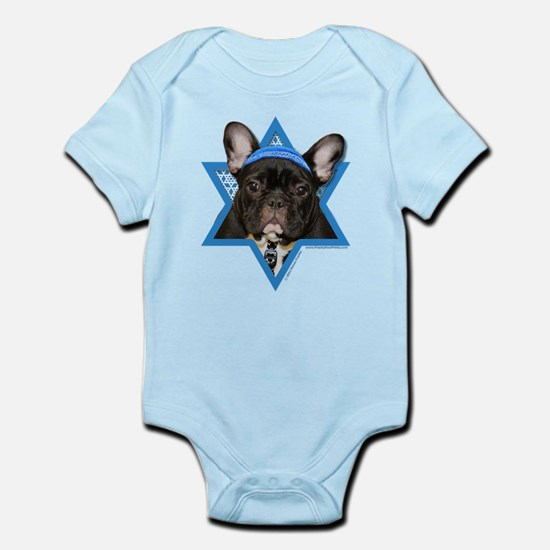 Hanukkah Star of David - Frenchie Infant Bodysuit