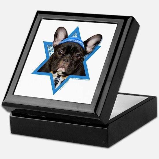 Hanukkah Star of David - Frenchie Keepsake Box