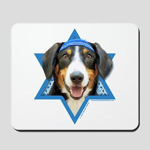 Hanukkah Star of David - Bucher Mousepad