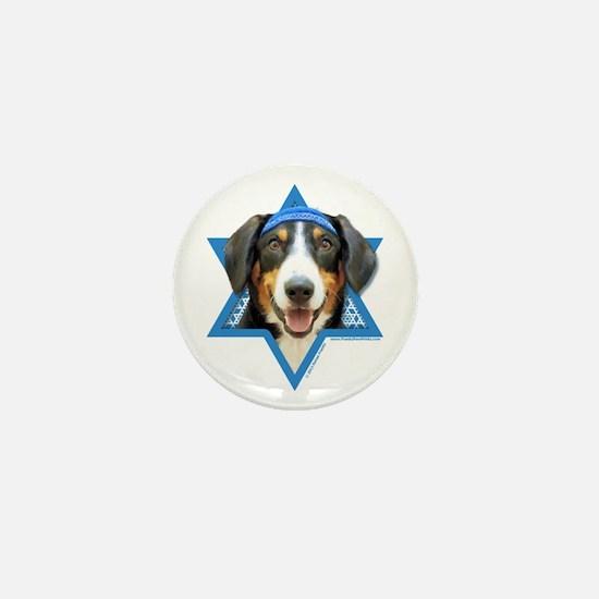 Hanukkah Star of David - Bucher Mini Button