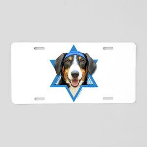 Hanukkah Star of David - Bucher Aluminum License P