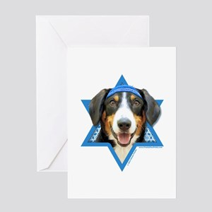 Hanukkah Star of David - Bucher Greeting Card