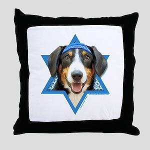 Hanukkah Star of David - Bucher Throw Pillow