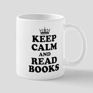 Keep Calm Read Books Mugs