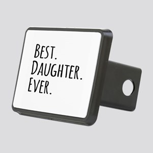 Best Daughter Ever Rectangular Hitch Cover