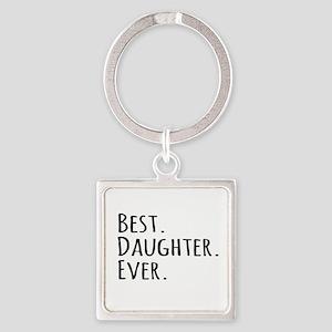 Best Daughter Ever Keychains