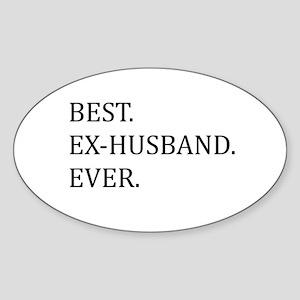 Best Ex-husband Ever Sticker