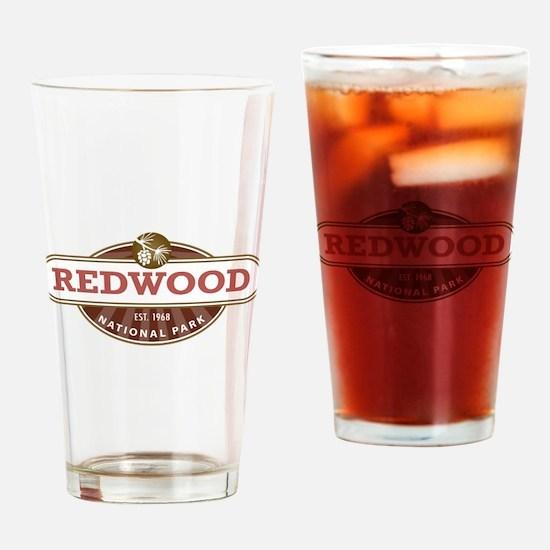 Redwood National Park Drinking Glass
