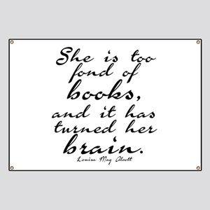Too Fond of Books Banner
