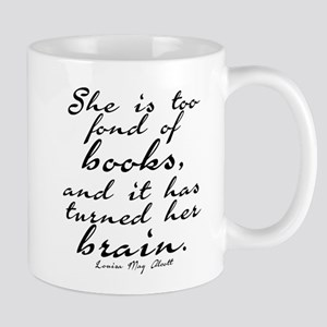 Too Fond of Books Mug