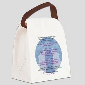 Wolf Wisdom Canvas Lunch Bag