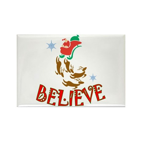 Santa Claus Believe Magnets