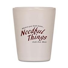 Needful Things (LRD #7) Shot Glass
