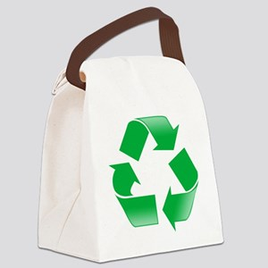 CLASSIC RECYCLE SYMBOL Canvas Lunch Bag
