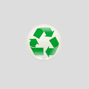 CLASSIC RECYCLE SYMBOL Mini Button