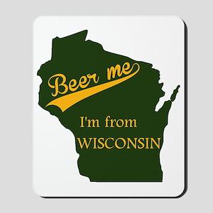 Beer me! Mousepad