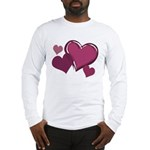 Love Hearts Art Long Sleeve T-Shirt Valentine's