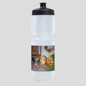 tig lil halloween jackolat16x12 Sports Bottle