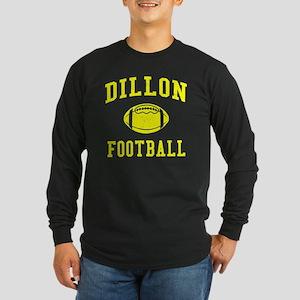 Dillon Football Long Sleeve Dark T-Shirt