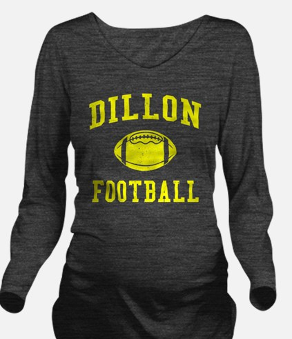 Dillon Football Long Sleeve Maternity T-Shirt