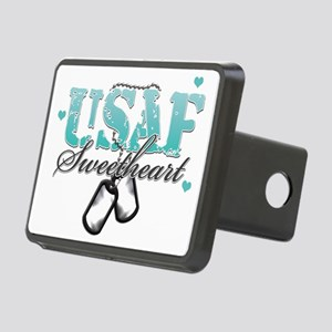 usaf teal Rectangular Hitch Cover