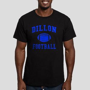 Dillon Football Men's Fitted T-Shirt (dark)