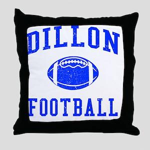 Dillon Football Throw Pillow