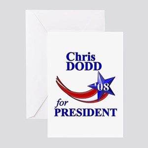 Chris Dodd for President Greeting Cards (Package o