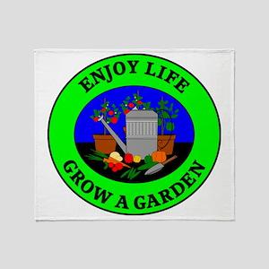 garden6 Throw Blanket