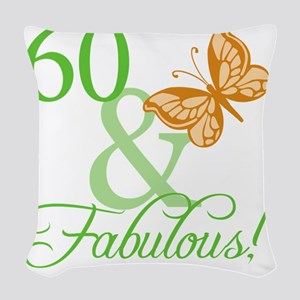 fabulousII_60 Woven Throw Pillow