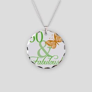 fabulousII_60 Necklace Circle Charm