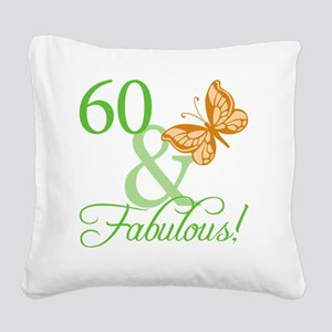 fabulousII_60 Square Canvas Pillow