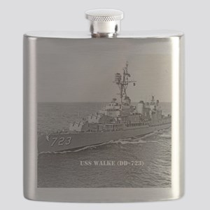 3-walke note card Flask
