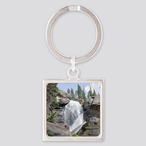 colorado_waterfall_TC Square Keychain