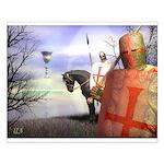 Knight Templar #2 Small Poster