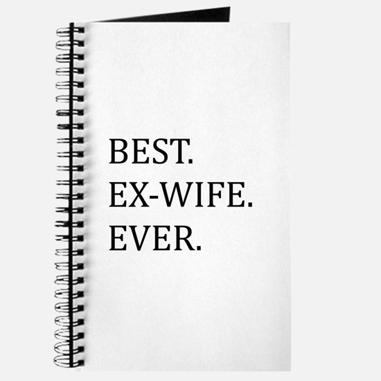 Best Ex-wife Ever Journal