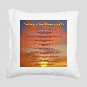 ABCs Hawaiian sunset (2)600 r Square Canvas Pillow
