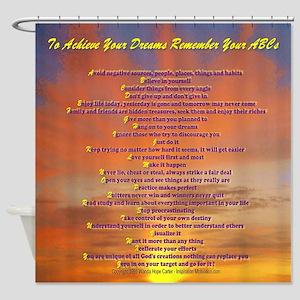 ABCs Hawaiian sunset (2)600 res (2) Shower Curtain