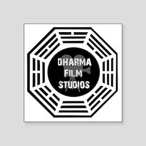 """Dharma Films 4 Square Sticker 3"""" x 3"""""""