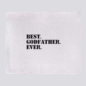 Best Godfather Ever Throw Blanket