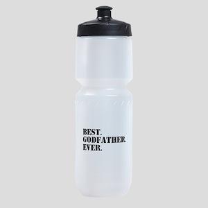 Best Godfather Ever Sports Bottle