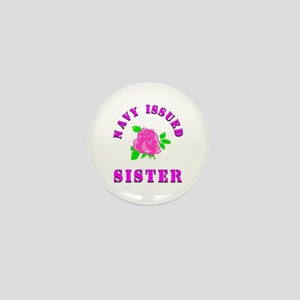 navy issued sister Mini Button