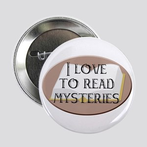 I Love to Read Mysteries Button