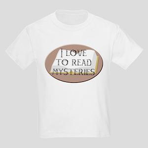 I Love to Read Mysteries Kids T-Shirt
