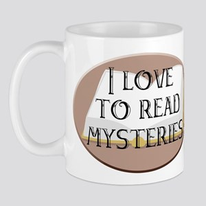 I Love to Read Mysteries Mug