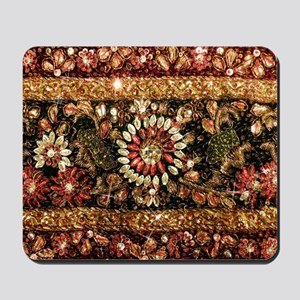 Beaded Indian Saree Photo Mousepad