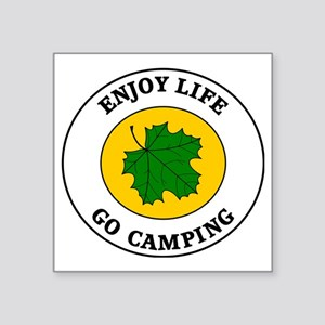 "camping5 Square Sticker 3"" x 3"""
