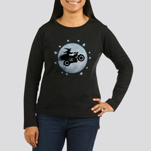 witch-biker-moon-T Long Sleeve T-Shirt