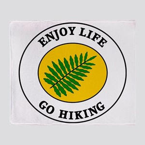 hiking2 Throw Blanket