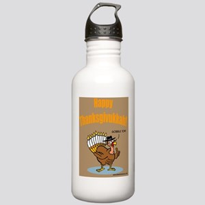 Thanksgivukkah Thanksg Stainless Water Bottle 1.0L